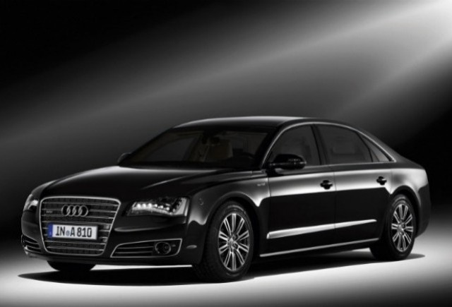 Iata noul Audi A8L blindat!