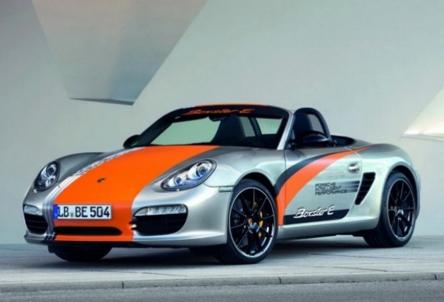 Porsche prezinta noul prototip Boxter E
