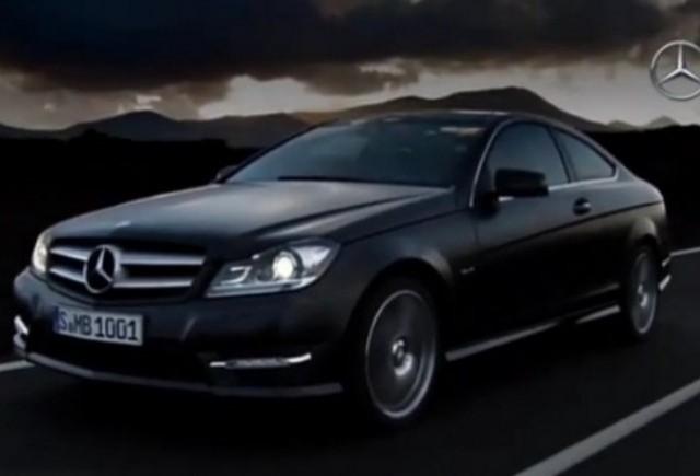 VIDEO: Mercedes prezinta modelul C-Klasse Coupe
