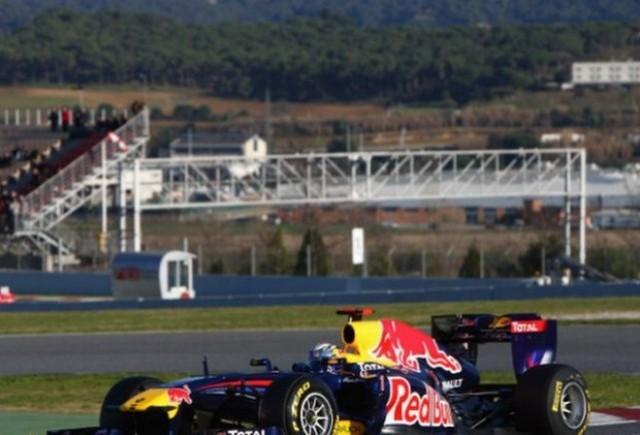 Vettel, cel mai rapid in prima zi de la Barcelona