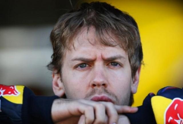 Vettel: Am alergat prea putin