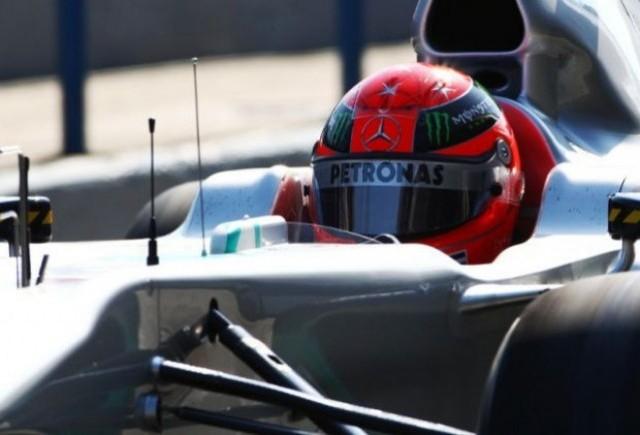 Schumacher: Noua masina nu este una de titlu