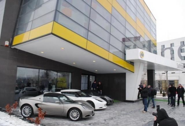 Nigel Mansell a inaugurat primul show-room Lotus din Romania