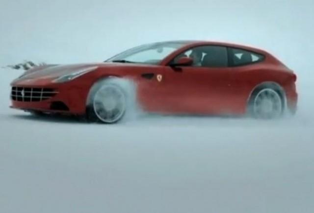VIDEO: Puternicul Ferrari FF in actiune