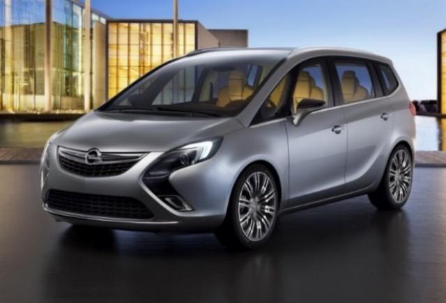 Conceptul Opel Zafira Tourer se prezinta