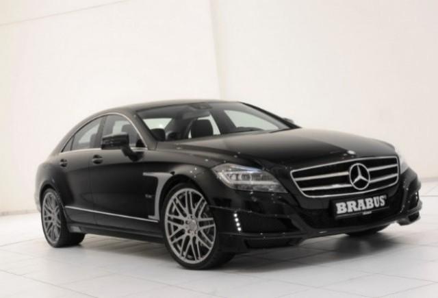 Brabus pregateste un Mercedes CLS modificat pentru Geneva