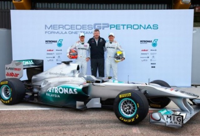Daimler devine actionar majoritar Mercedes GP
