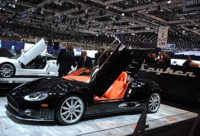 Geneva LIVE: Spyker se intoarce in cursele de anduranta cu C8 Aileron GT
