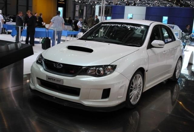 GENEVA LIVE: Standul Subaru
