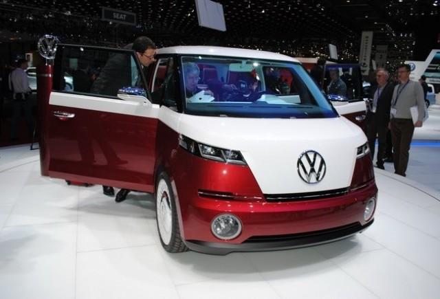GENEVA LIVE: Conceptul Volkswagen Bulli