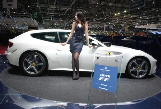 GENEVA LIVE: Noul Ferrari FF by Pininfarina