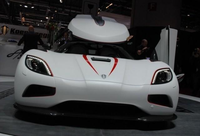 GENEVA LIVE: Koenigsegg Agera R, hypercarul de 1115 CP