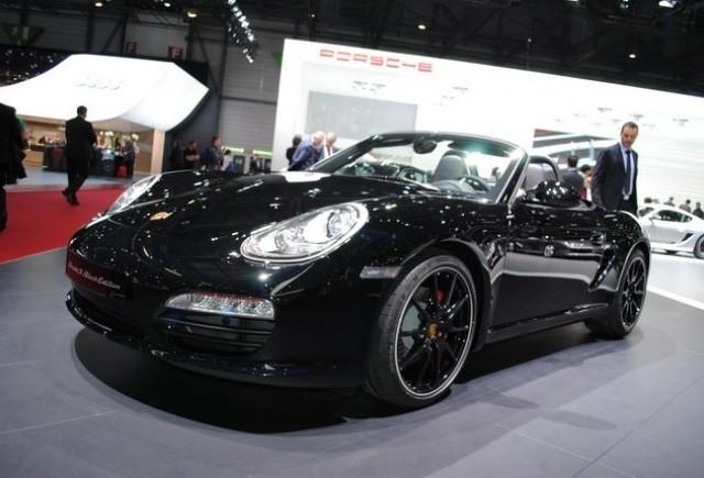 Geneva LIVE: Porsche Boxster S Black Edition