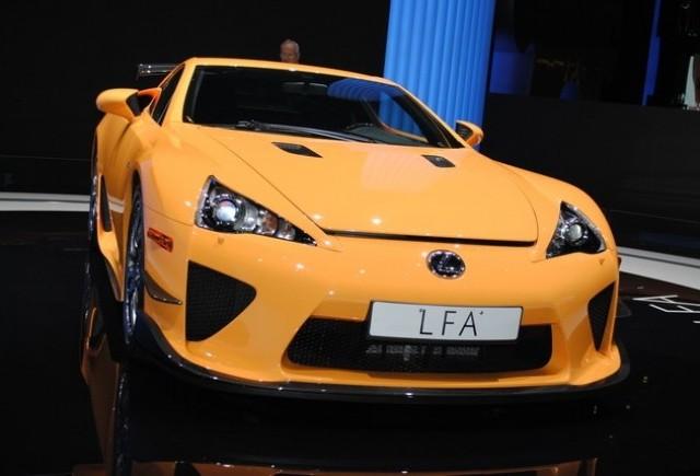 GENEVA LIVE: Lexus LFA Nurburgring Edition