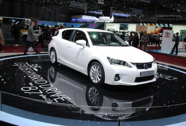 GENEVA LIVE: Lexus CT 200 Hybrid