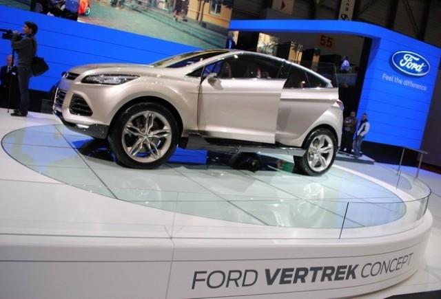 GENEVA LIVE: Conceptul Ford Vertrek