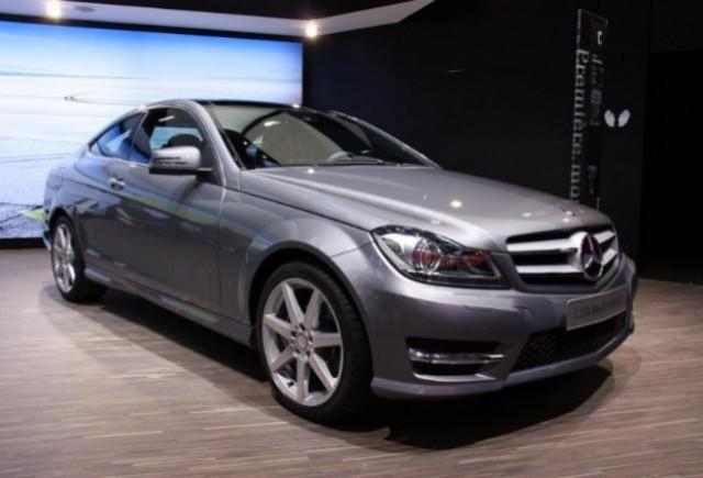 GENEVA LIVE: Mercedes C-Klasse Coupe
