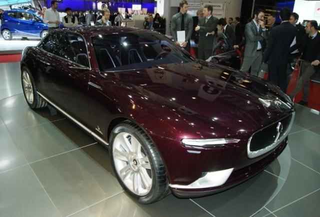 Geneva LIVE: Bertone Jaguar B99 Concept