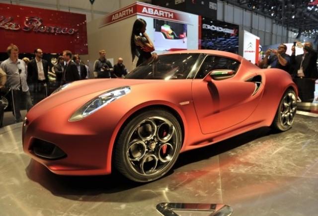 Geneva LIVE: Alfa Romeo 4C Concept