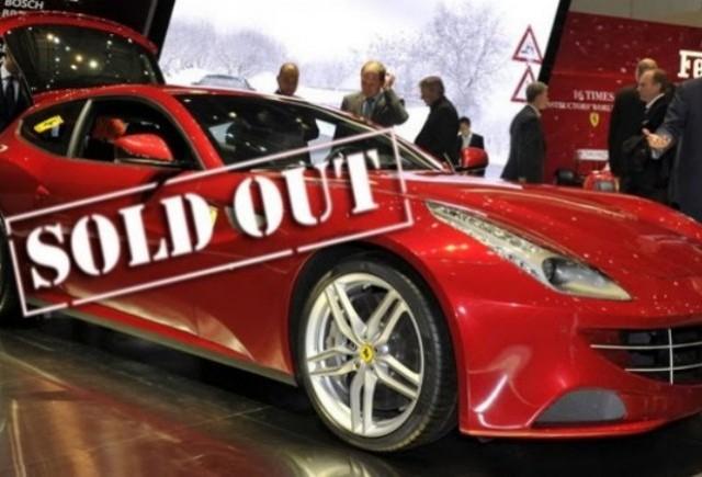 Lamborghini si Ferrari au vandut toate modelele Aventador si FF planificate pentru 2011