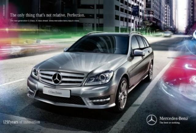 GALERIE FOTO: Noul Mercedes C-Klasse facelift prezentat in detaliu