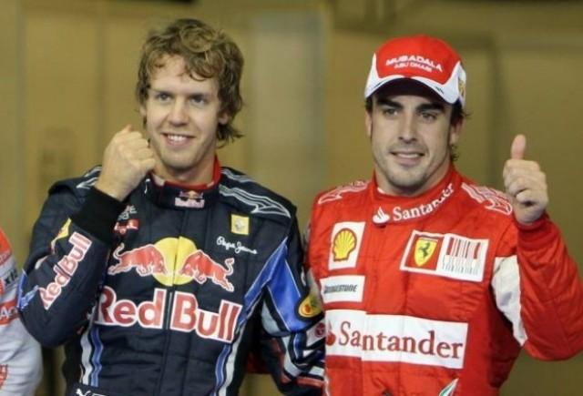 Vettel: Am avut ceva probleme cu Alonso
