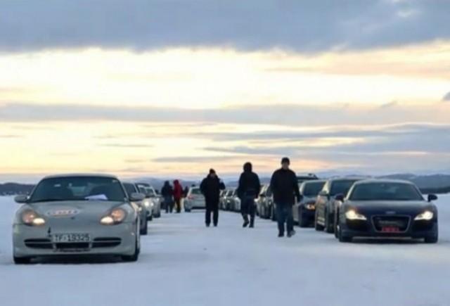 VIDEO: Norvegienii arata ca se stiu distra pe zapada