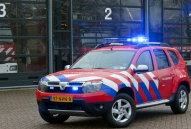 Dacia Duster de pompieri