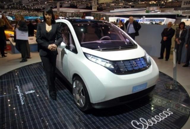Pininfarina BLUECAR, in productie pentru rent-a-car