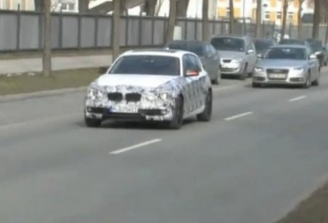 VIDEO: Noul BMW Seria 1 surprins in Munchen