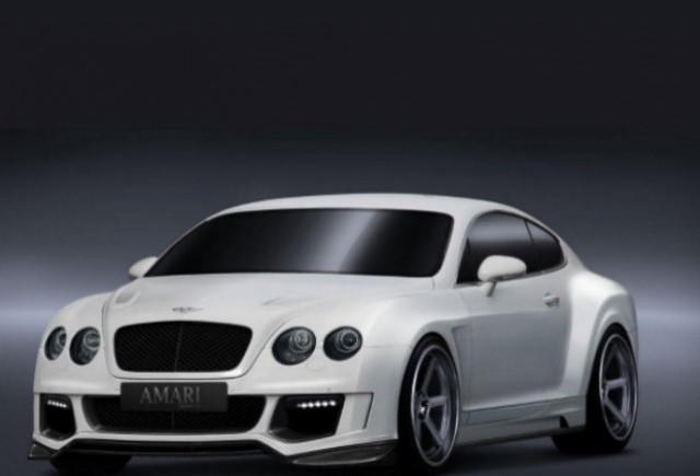 Bentley Continental GT tunat de Amari Design