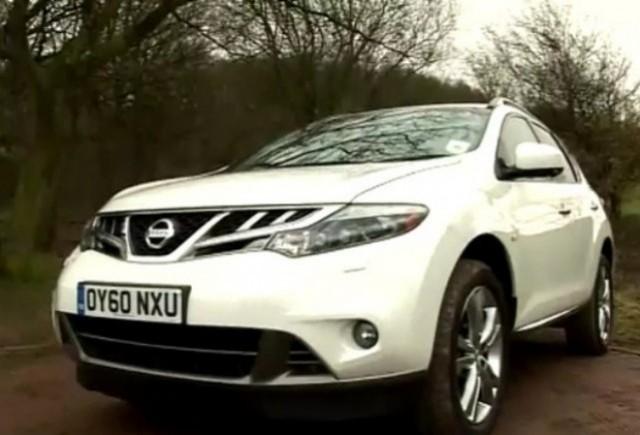 VIDEO: Fifth Gear testeaza noul Nissan Murano diesel