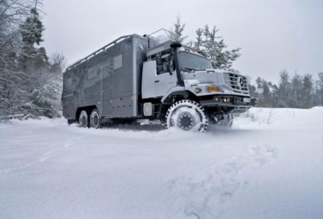 Mercedes a creat un Zetros special pentru vanatoare