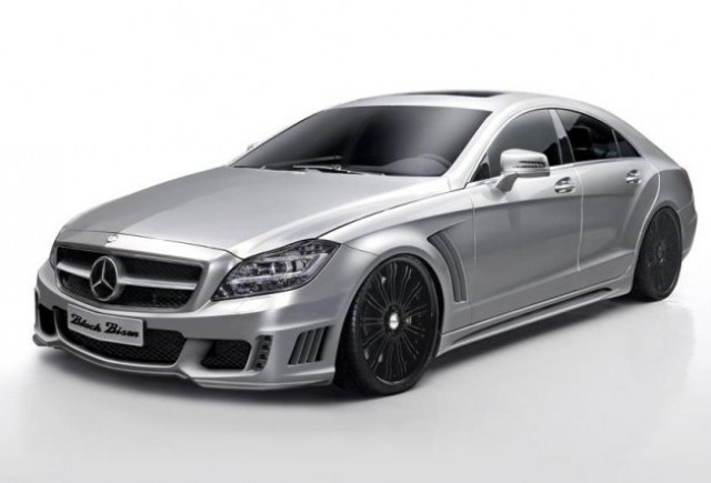 Mercedes CLS si BMW Serie 5 de la Wald International