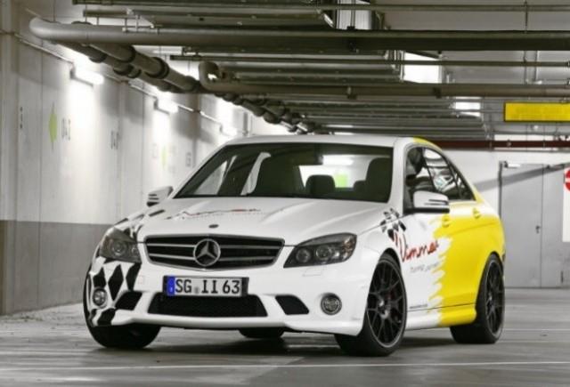 Wimmer RS a creat un Mercedes C63 AMG de 601 CP!