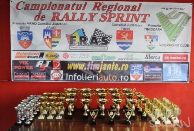 Regionalul de Rally de la Arad a debutat spectaculos!