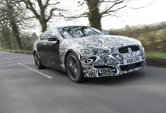 Noul Jaguar XF, teaser pentru New York Auto Show