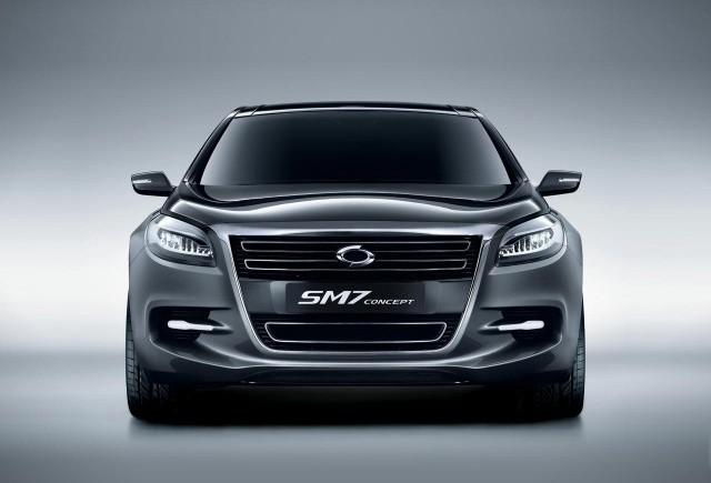 Renault-Samsung a prezentat conceptul SM7 la Seoul