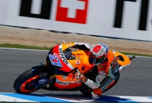 Stoner va pleca din pole-position la Jerez