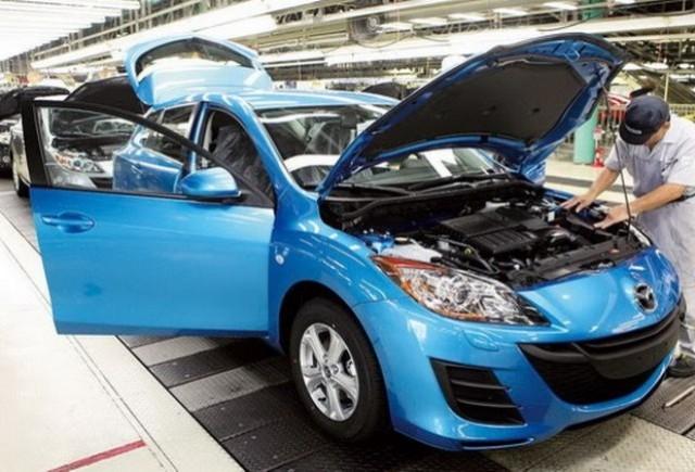 Piata auto japoneza inregistreaza pierderi masive