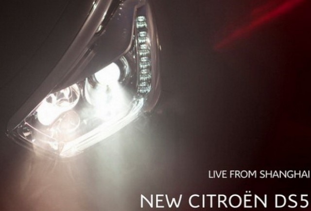 Citroen DS5 va fi prezentat la Shanghai Motor Show
