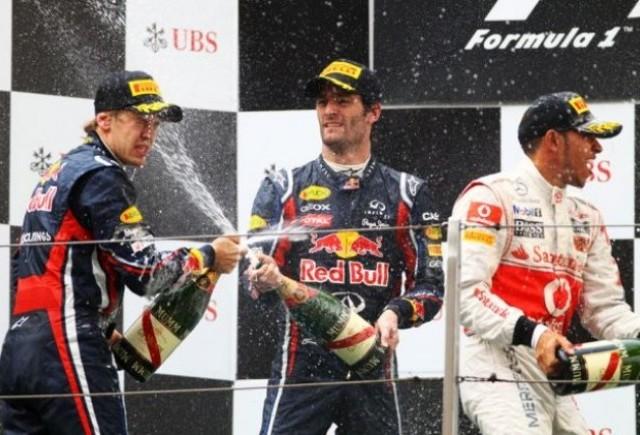 Webber, bucuros pentru infrangerea lui Vettel