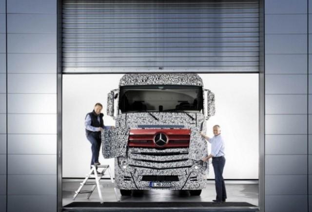 Mercedes-Benz Actros Euro VI!