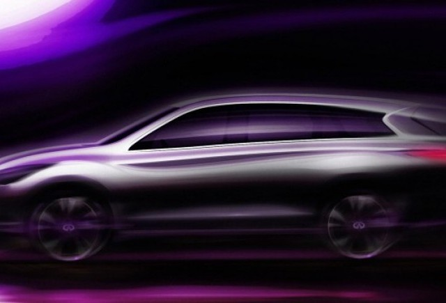 Infiniti JX, anuntat pentru Los Angeles Auto Show 2011