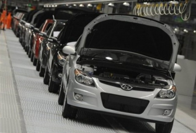 Hyundai va creste productia in China la 1 milion de masini pe an