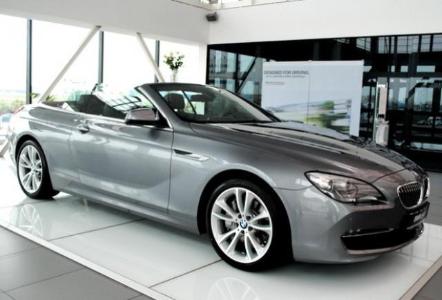 BMW Seria 6 Cabriolet