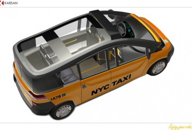 NY Taxi made in Turcia