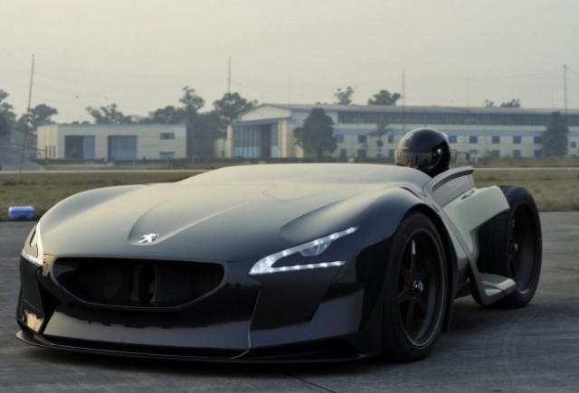 Peugeot EX1, nou record