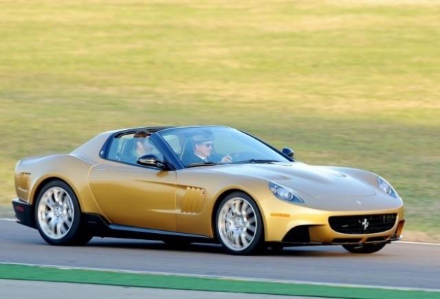 Ferrari Super America 45 unicat, la Concorso d'Eleganza Villa d'Este