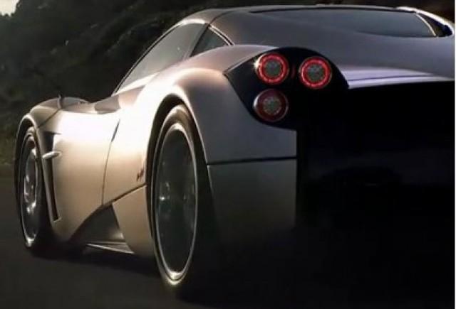 Pagani Huayra, sunetul motorului pe circuit